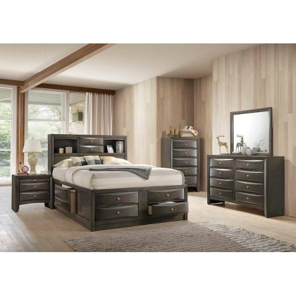 Dominique Gray 5 Pc Queen Panel Bedroom | Home Sweet Home | Pinterest |  Bedroom, Bedroom sets and King bedroom sets