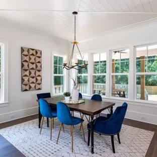 best jute rug  dining room