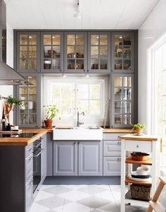 White and Grey Kitchen Ideas for Its Fanatic Color: White Grey Kitchen  Cabinets Grey Kitchen