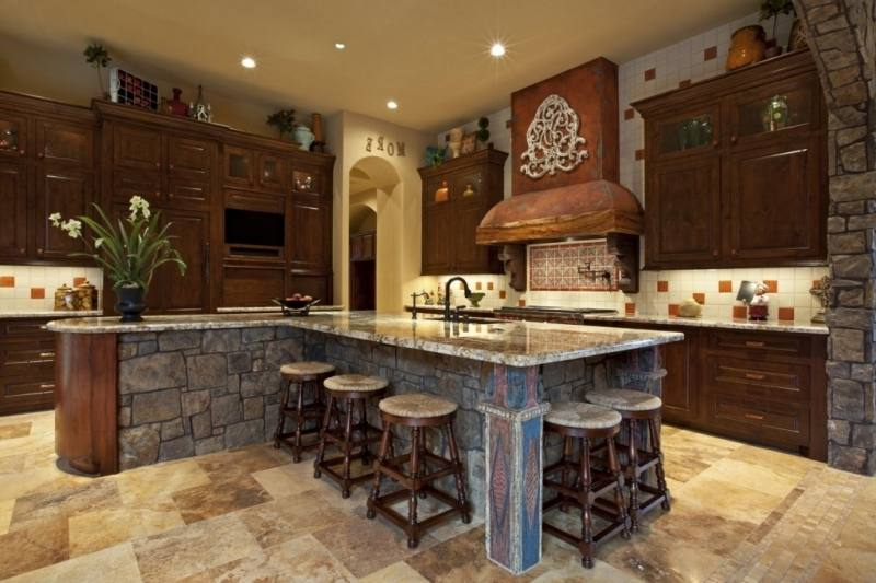 Cabinets Kitchen Style Ideas Medium size Southwestern Kitchen Style  Island Spanish Best Colonial Remodeling Ideas Images Spanish