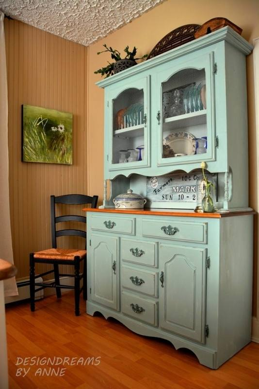 A gorgeous collection of wood and reclaimed wood dining room hutch and buffets