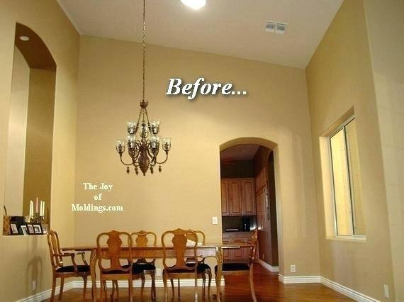 Crown molding ideas – fabulous ceiling designs and decorations