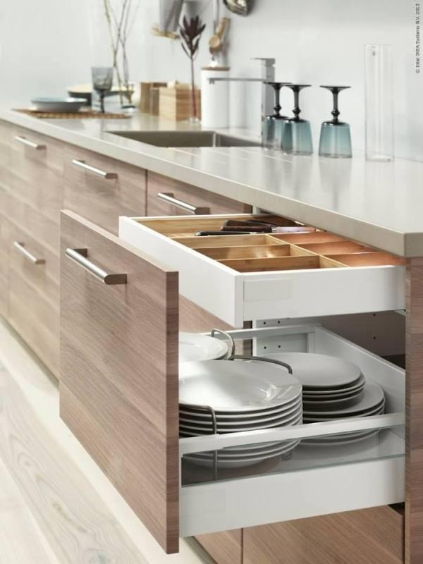log cabin kitchen cabinets