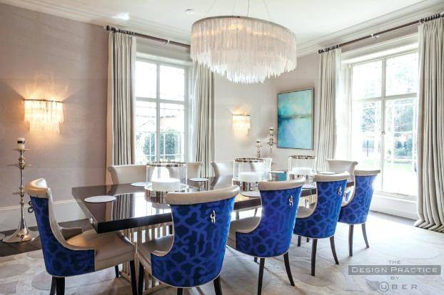 Blue RoomsPainted DoorsDining TableDining