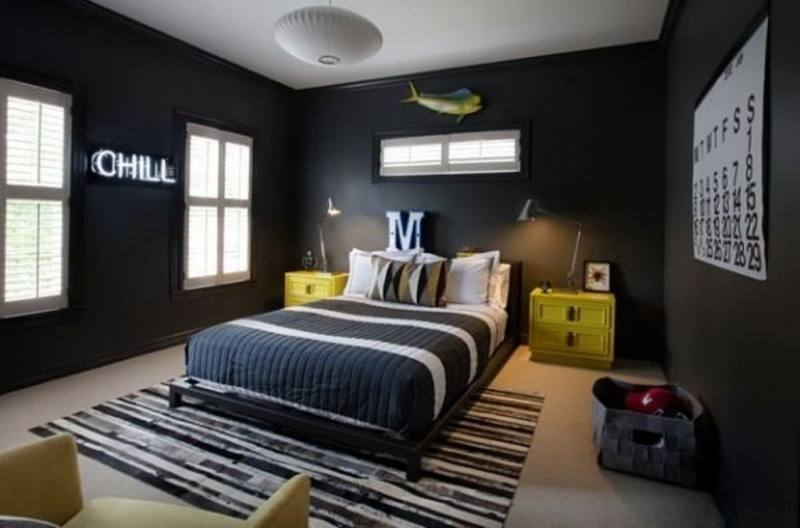 dark color bedroom ideas