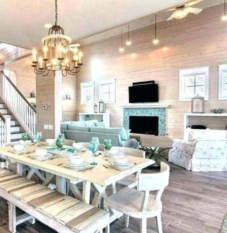 10 Inspired Ideas for a Coastal Cottage Dining Room | Master ideas | Cottage  dining rooms, Dining, Dining room