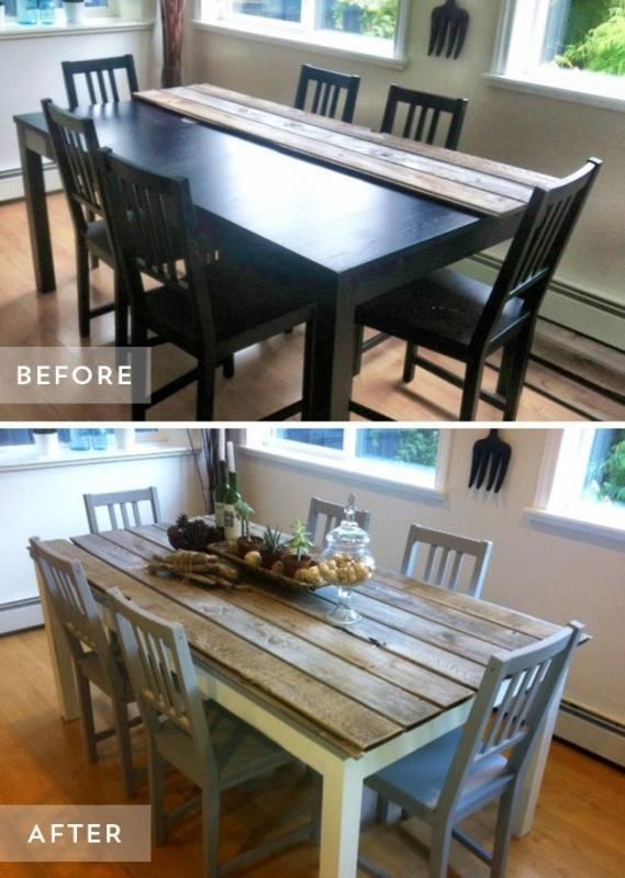 Amazing Ideas: Dining Furniture Design Mid Century dining furniture makeover  oak table