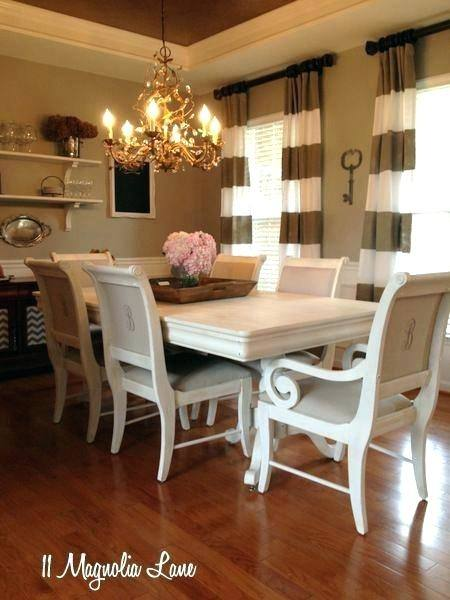 Dining room inspiration! Get all the details about this casual dining room  makeover